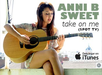 ANNI B SWEET- TAKE ON ME - YouTube
