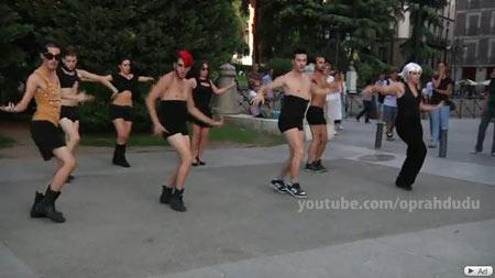 Lady GaGa lipdub Madrid