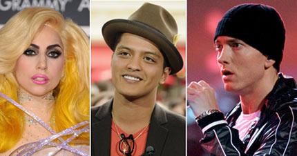 Eminem lidera las nominaciones de los Premios Grammy