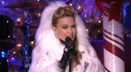 Kylie Minogue y Mariah Carey actuaron en Rockefeller Center