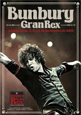 Gran Rex - Bunbury, Enrique Bunbury Songs, Reviews, Credits