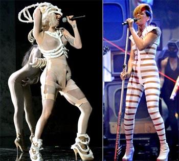 Rihanna y Lady GaGa