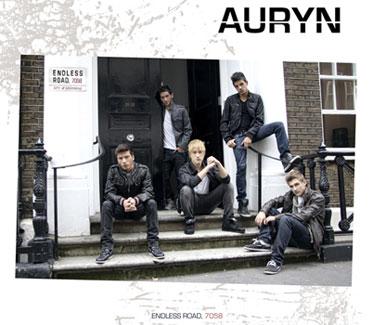 El nuevo grupo pop revelación Auryn exito en España