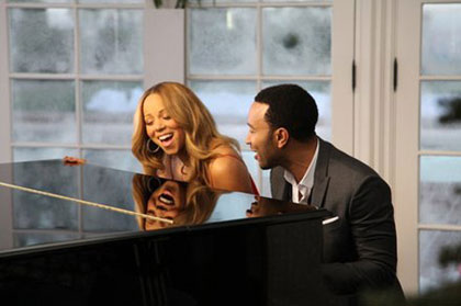 Mariah Carey y John Legend