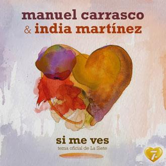 Manuel Carrasco e India Martínez