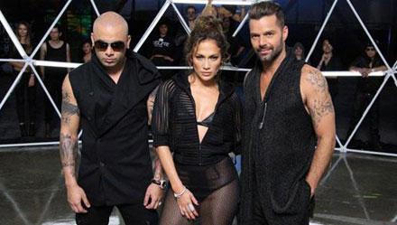 Jennifer Lopez y Ricky Martin