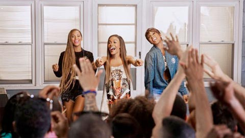 Michelle Williams estrena el vídeoclip de su tema junto a Beyoncé y Kelly Rowland