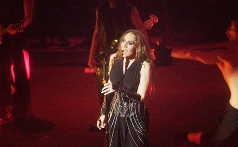 Mónica Naranjo en concierto 2014