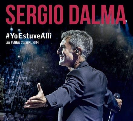Sergio Dalma celebrará sus 25º años de carrera con un disco en directo