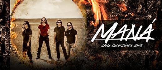 Nueva gira de Maná