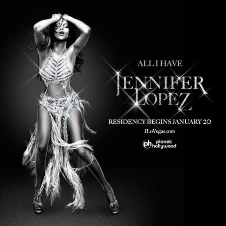 Jennifer Lopez en Las Vegas