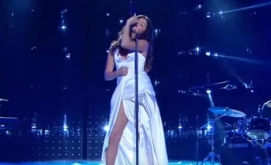 Actuación de Selena Gomez