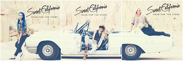 Segundo disco de Sweet California