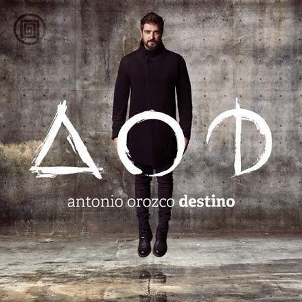 Nuevo disco de Antonio Orozco