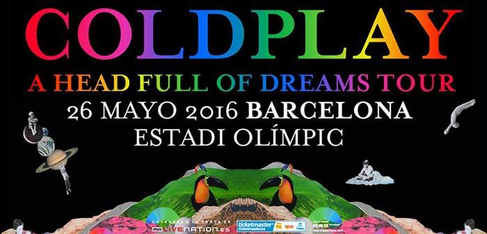 Coldplay Actuar En Barcelona El 26 De Mayo De 2016