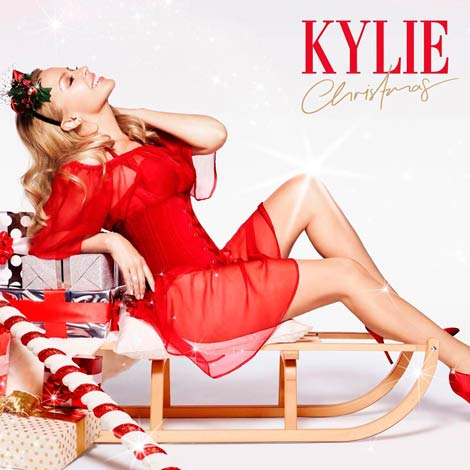Primer disco navideño de Kylie Minogue