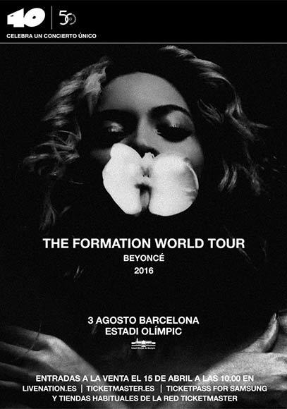 Beyoncé Barcelona