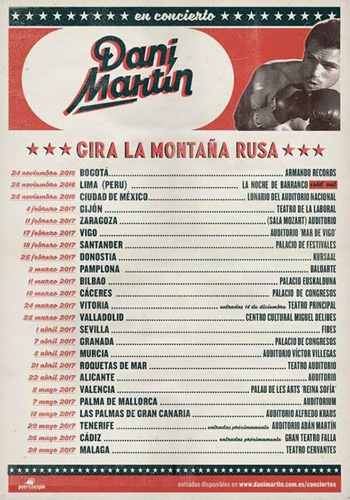 Gira de Dani Martín