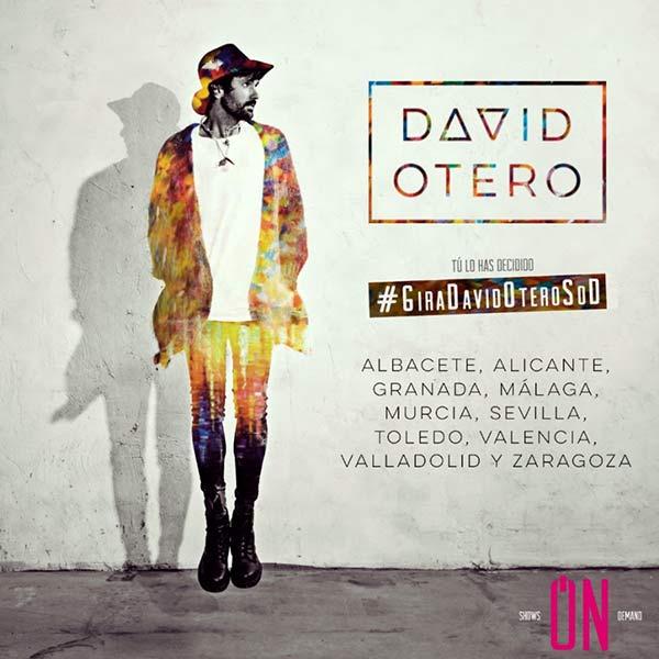 Nueva gira de David Otero