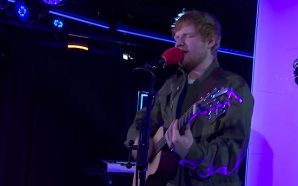 Actuación de Ed Sheeran