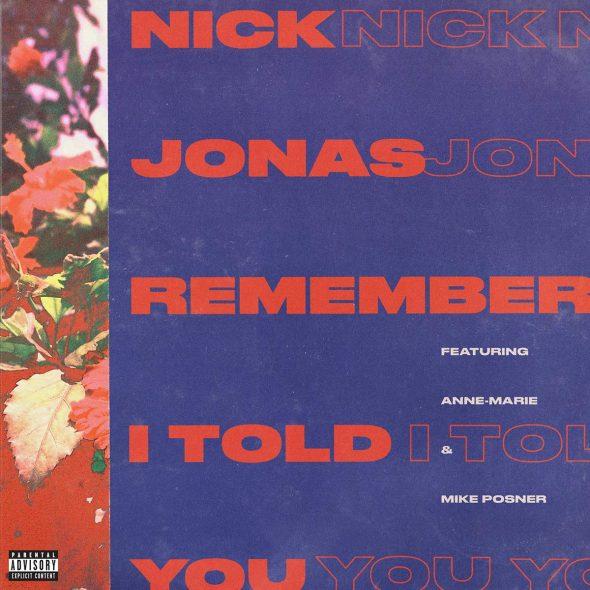 Nuevo single de Nick Jonas