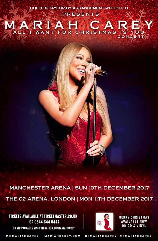 All i Want for Christmas is You Concert