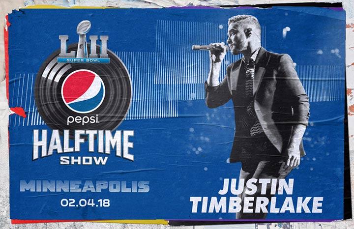 Justin Timberlake en la Superbowl