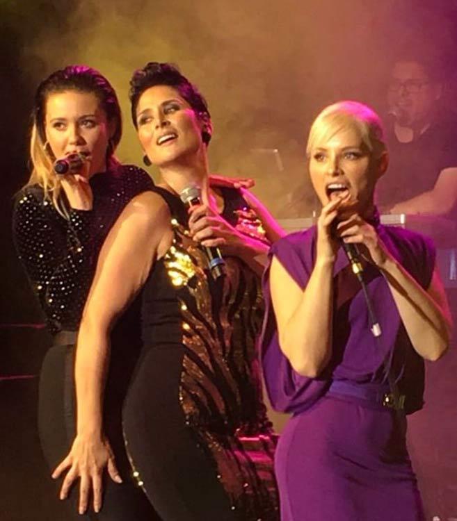 Soraya, Rosa y Lorena
