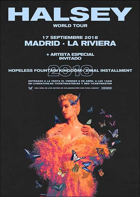 Halsey en Madrid
