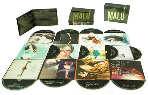 Malú lanza una caja especial con toda su discografía y videografía |  Popelera