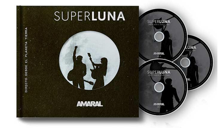 Nuevo disco en directo de Amaral