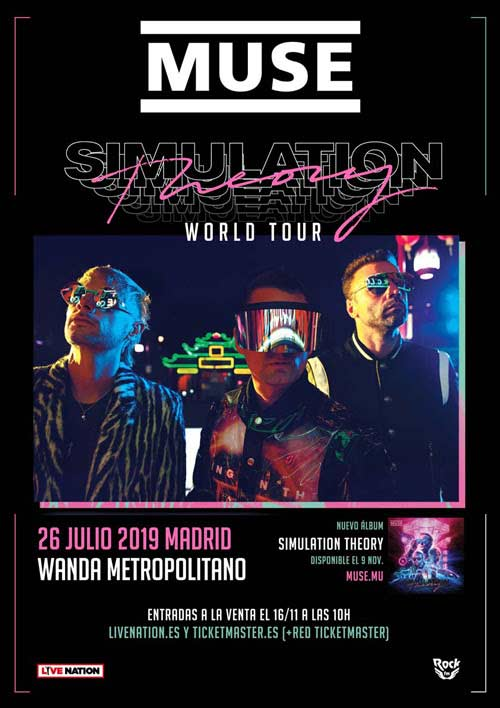 Simulation Theory World Tour 2019