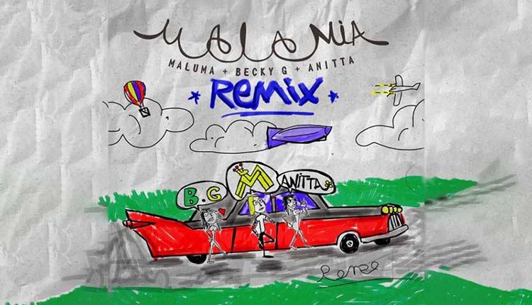 Mala mía remix