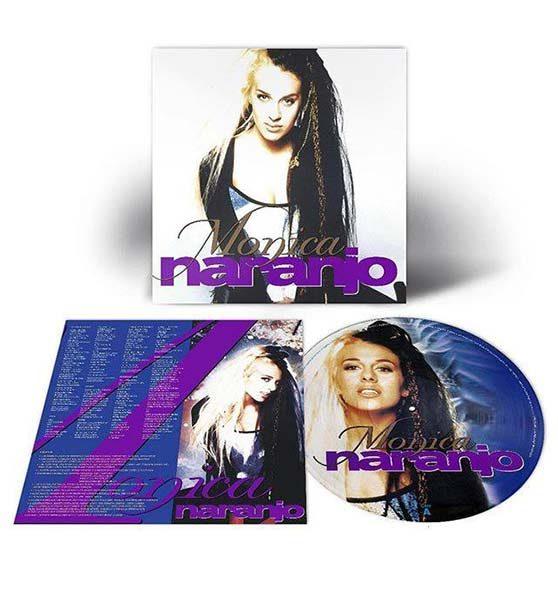 Edición vinilo del primer disco de Mónica Naranjo