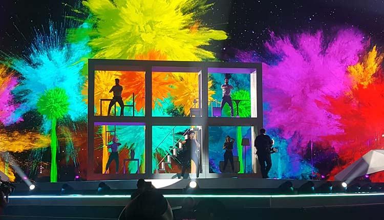 Primer ensayo de Miki en Eurovision