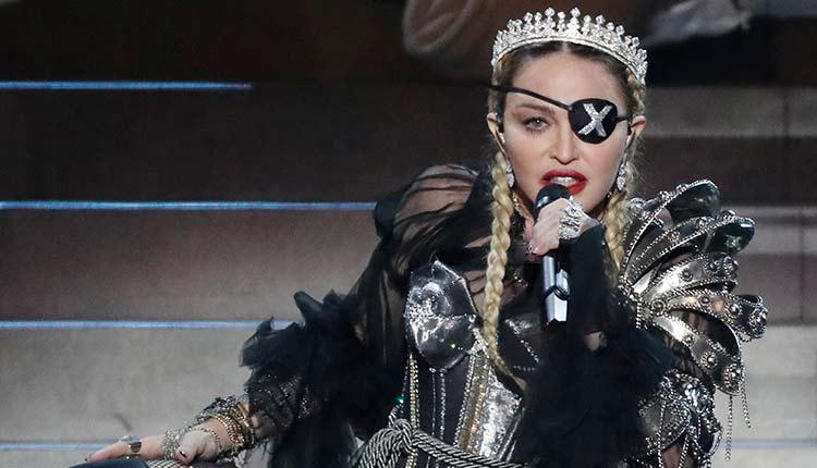 Actuación de Madonna en Eurovisión