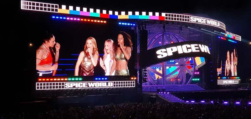 The return of The Spice Girls