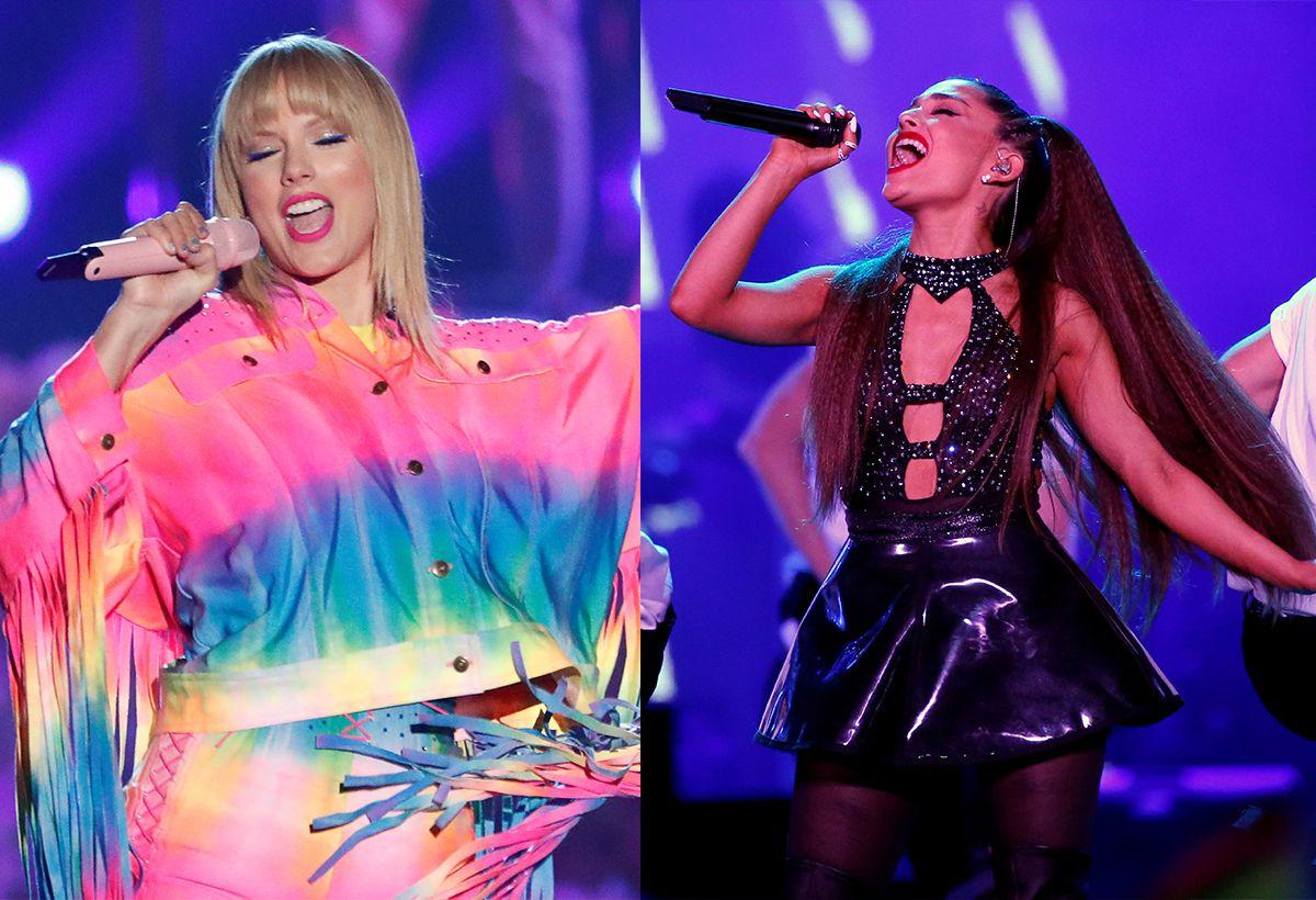 Taylor Swift y Ariana Grande