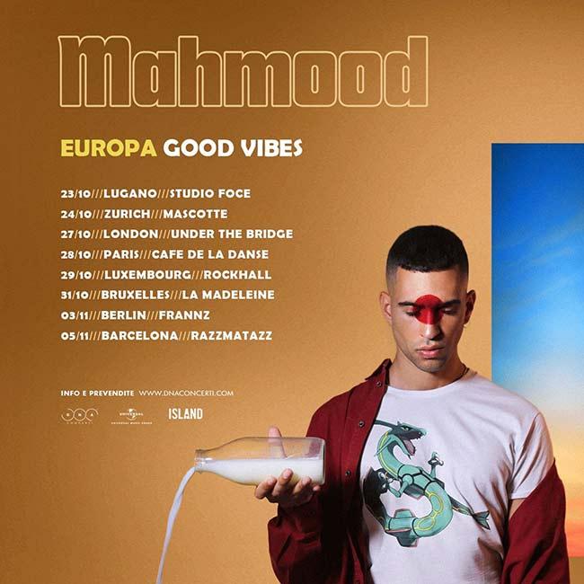 Nueva gira de Mahmood