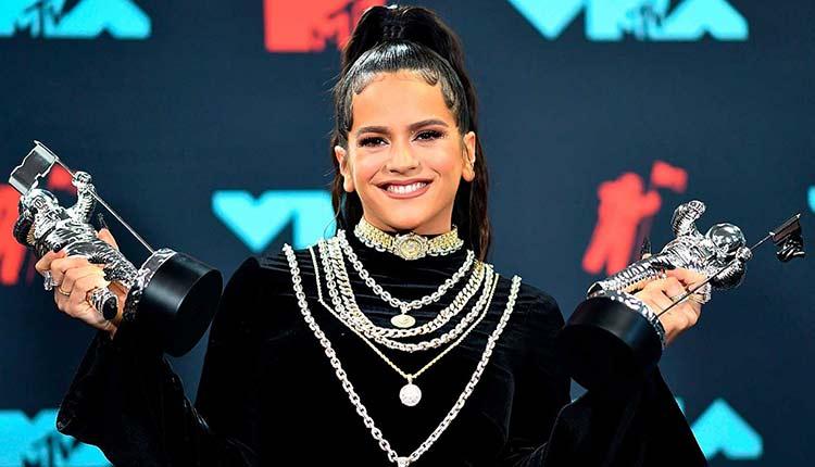 Rosalía en los VMAs 2019