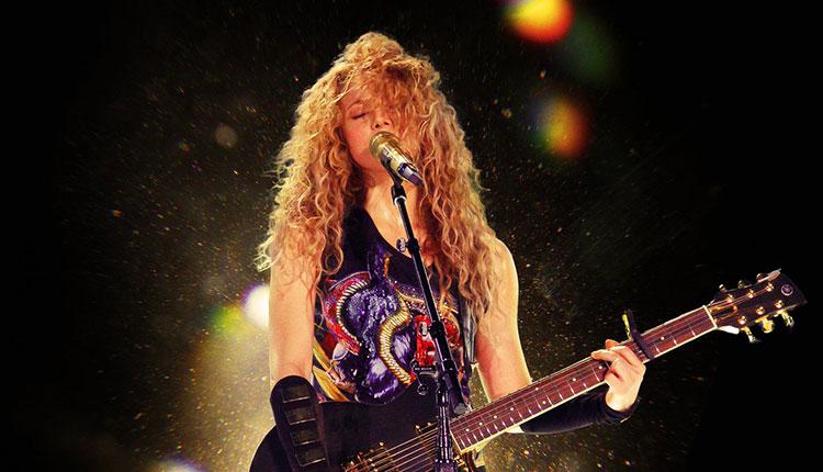 Shakira publica el disco en directo 'Shakira In Concert: El Dorado World Tour' - Popelera.net