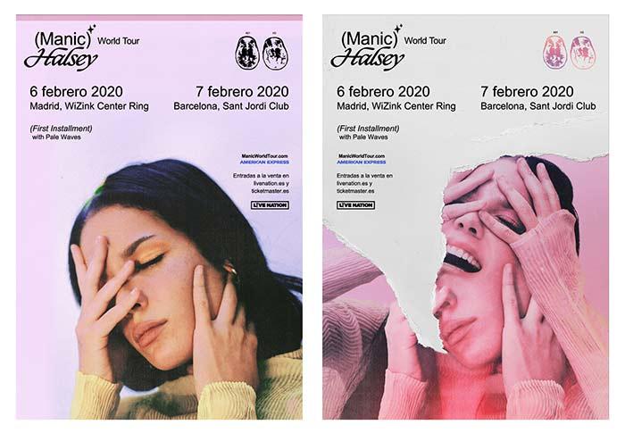 Conciertos de Halsey en Madrid y Barcelona