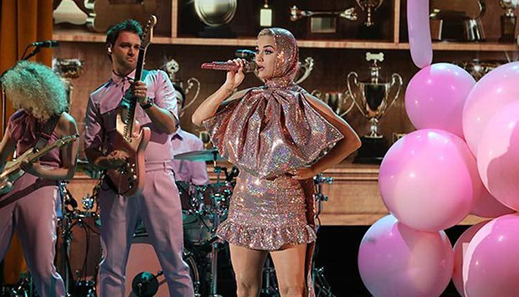 Actuación en directo de Katy Perry