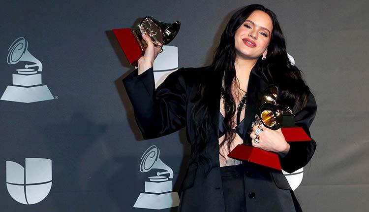 Rosalía en los Latin Grammy 2019