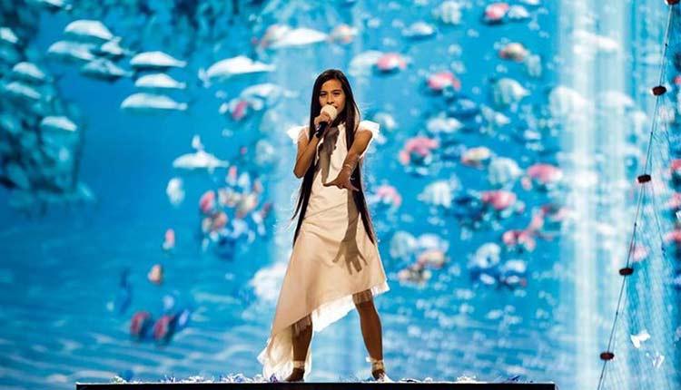 Melani en Eurovisión Junior