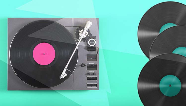 Escuchar música en formato vinilo
