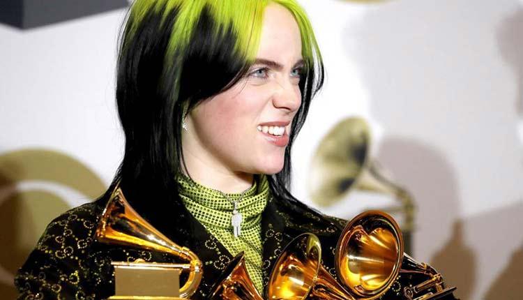 Billie Eilish en los Grammys 2020