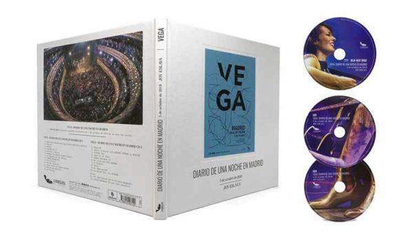 Disco en directo de Vega