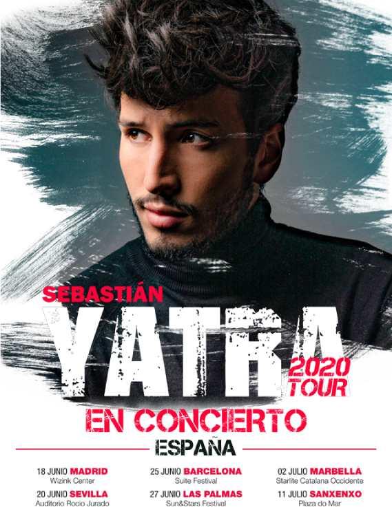 Sebastian Yatra en directo