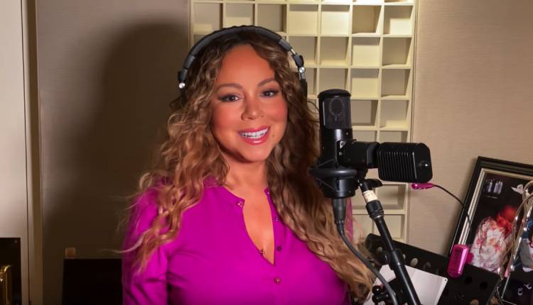 Mariah Carey desde casa